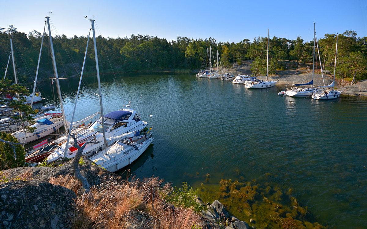 Naturhamnen_på_Munkholmen